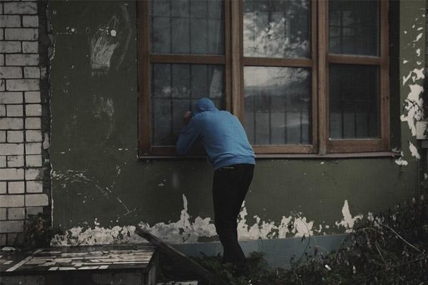 Peeking in Window